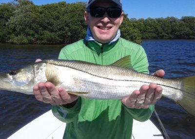 fishing snook in Tampa