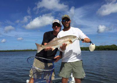 July Tampa Bay Redfish