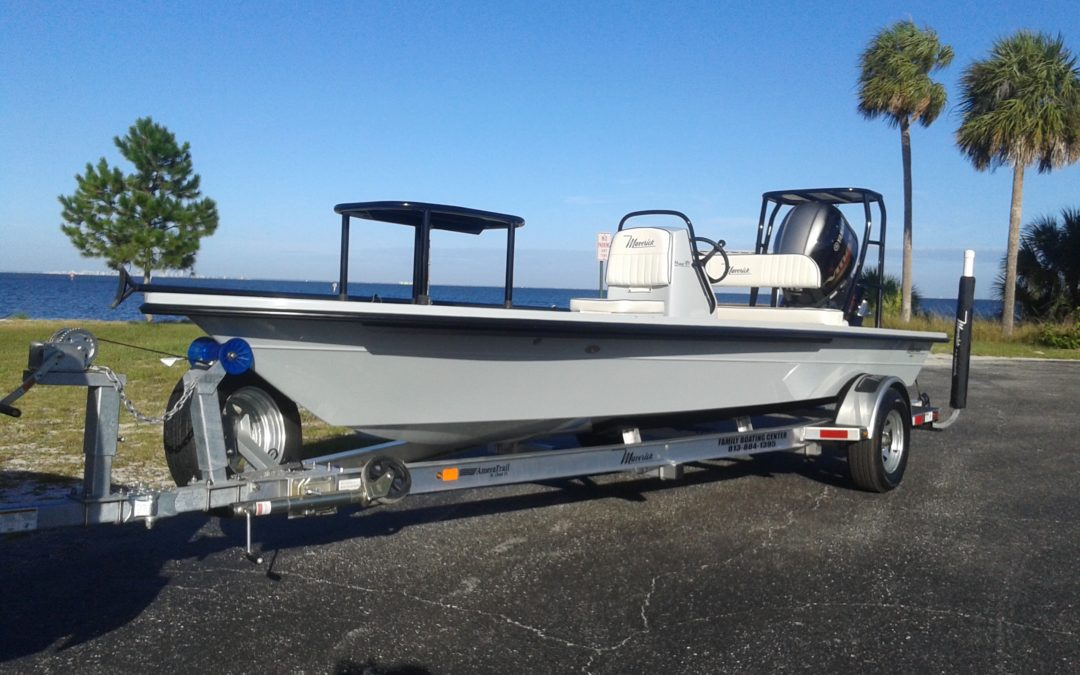 Tampa Fishing Charters gets a new boat!